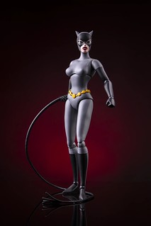 MONDO《蝙蝠俠:動畫系列》貓女 Batman: The Animated Series Catwoman 1/6 比例人偶