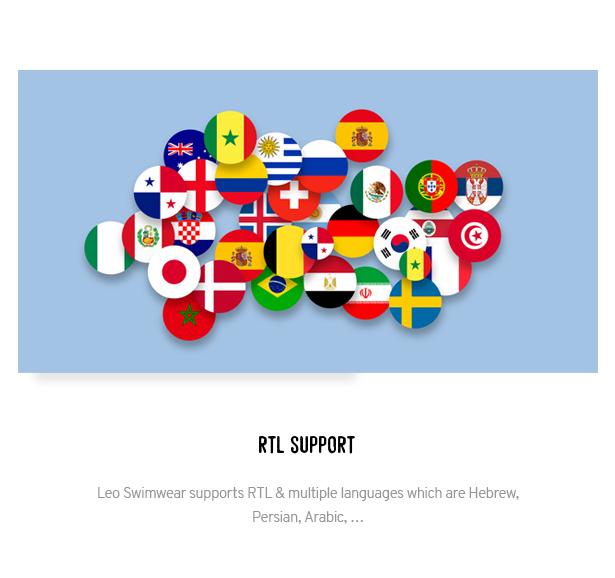 RTL & Multiple Languages