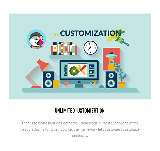Unlimited Customization