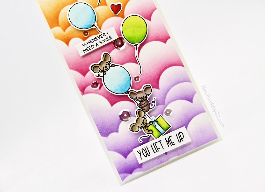 You Life Me Up card vertical closeup1