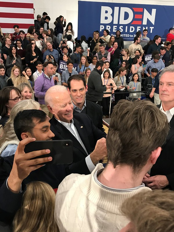 Joe Biden Rally in Des Moines, Feb. 2, 2020 - 2020 Iowa Caucus