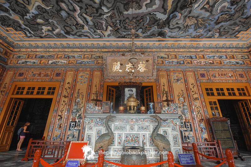vietnam - hue tomb of khai dinh