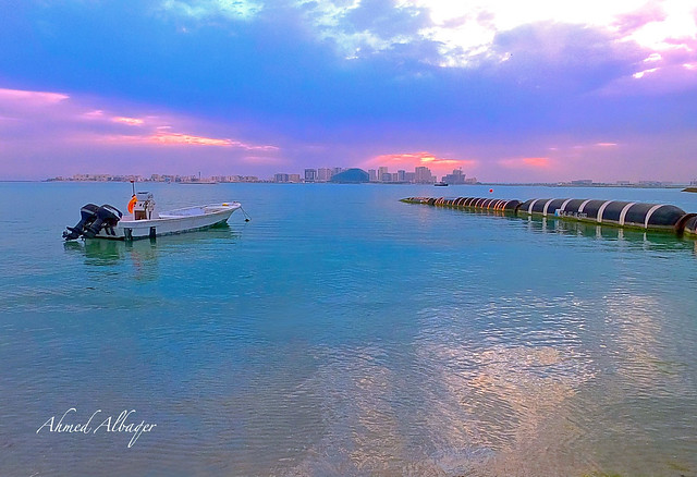 A Cloudy Winter Sunrise ( Bahrain ) .. شــــروق شتــوي غــــائم