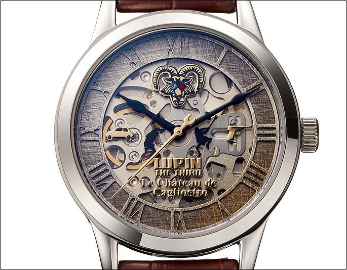 宮崎駿首度執導的經典之作!PREMICO《魯邦三世‧卡里奧斯特羅之城》40周年紀念機械式手錶(ルパン三世 カリオストロの城 機械式腕時計)