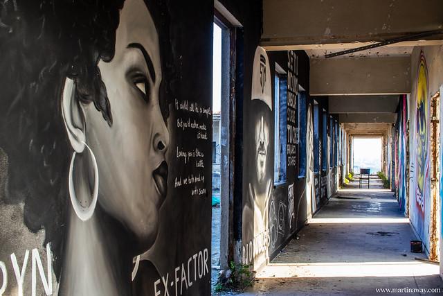 Il corridoio dell'Hip Hop
