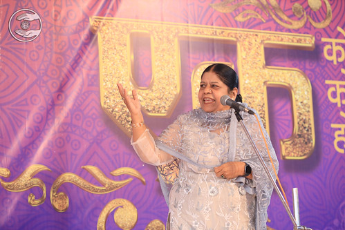 Vidhya Ji presented speech in Gujarati