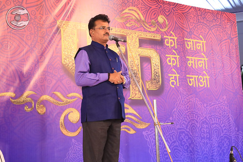 Special Invitee Dr Yuvraj Bhai Ji presented speech