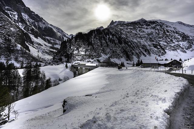 Road to Wichlen - Glarus - Switzerland