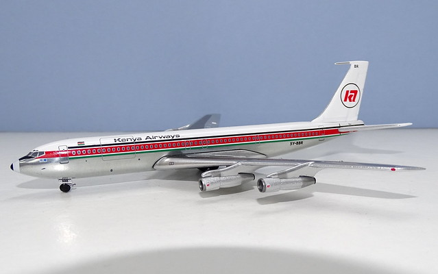 Kenya Airways Boeing 707-351B