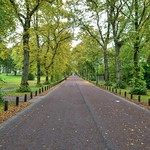 Long road in Moor Park, Preston