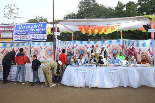 Stalls at the Samagam Ground