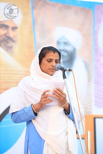 Bhawna Ji presented devotional song