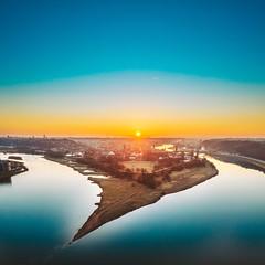 Confluence | Kaunas aerial