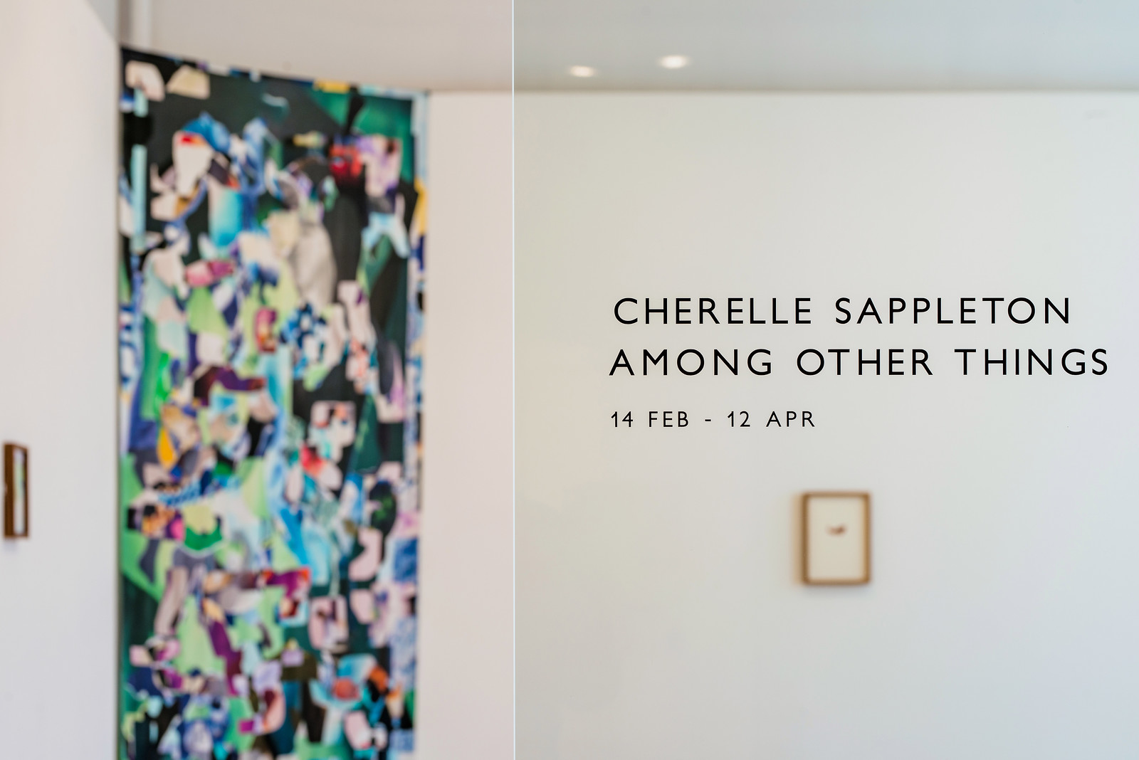CHERELLE SAPPLETON: AMONG OTHER THINGS 2020