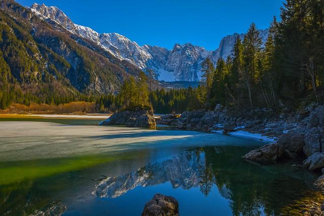 Lago di Fusine Superiore