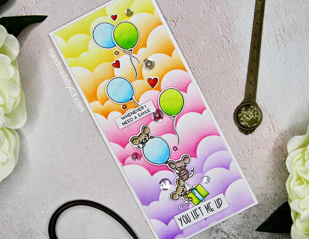 You Life Me Up card  closeup1