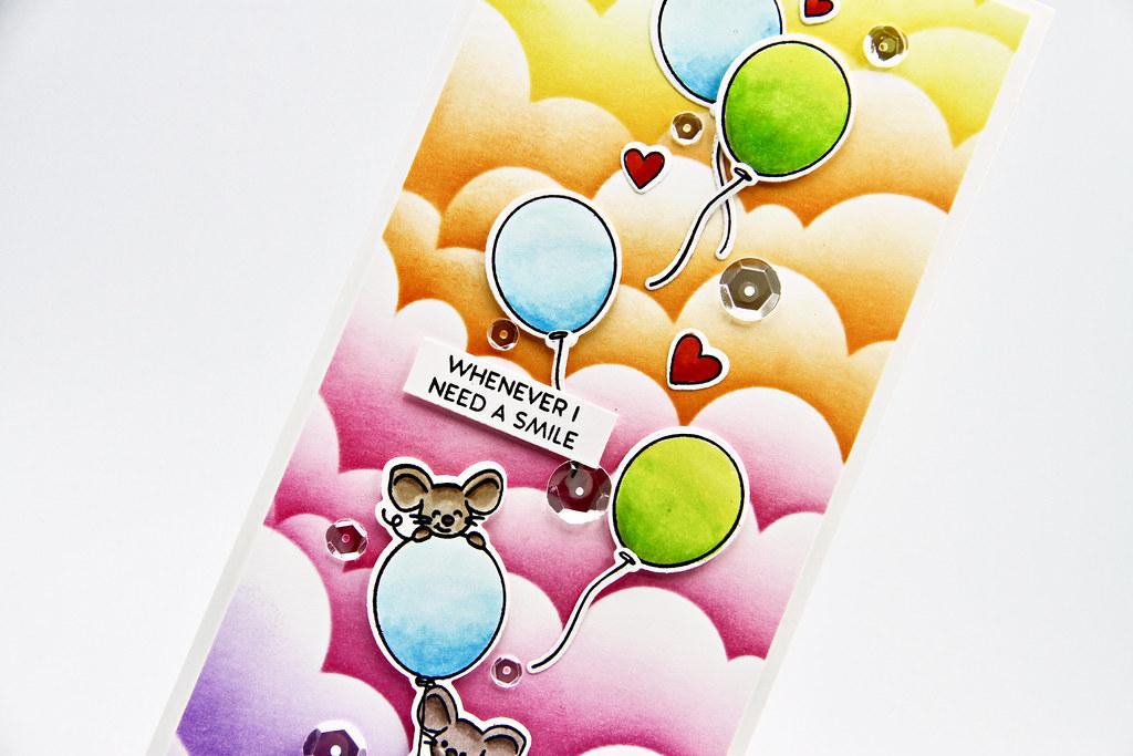 You Life Me Up card vertical closeup4
