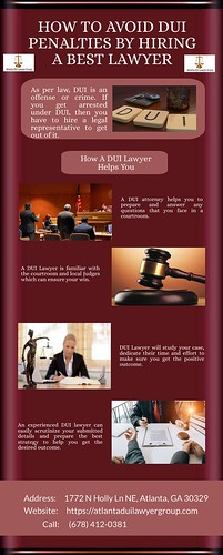 How to avoid DUI Penalties by Hiring a Best Lawyer