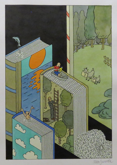 Exhibition Joost Swarte - Kunsthal Rotterdam