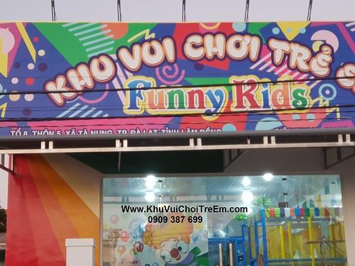 Khu vui chơi trẻ em NPY tại TaNung , Đà Lạt