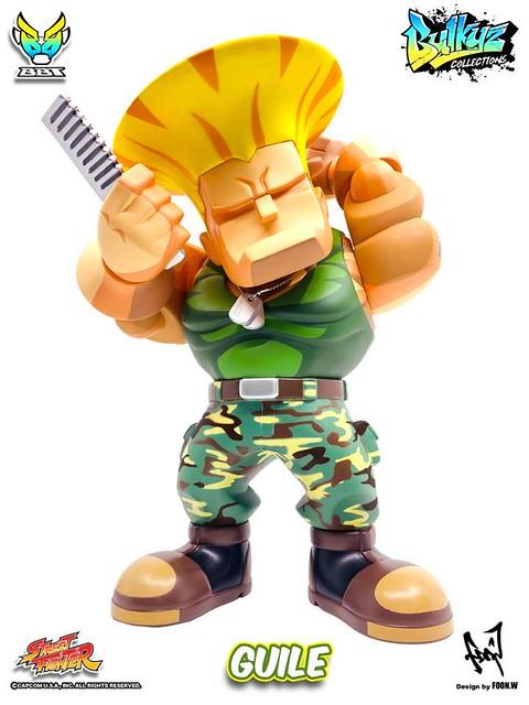 髮型很重要!BigBoyToys Bulkyz Collection 系列《快打旋風》凱爾(Street Fighter Guile)