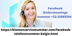 facebook klantenservice nummer