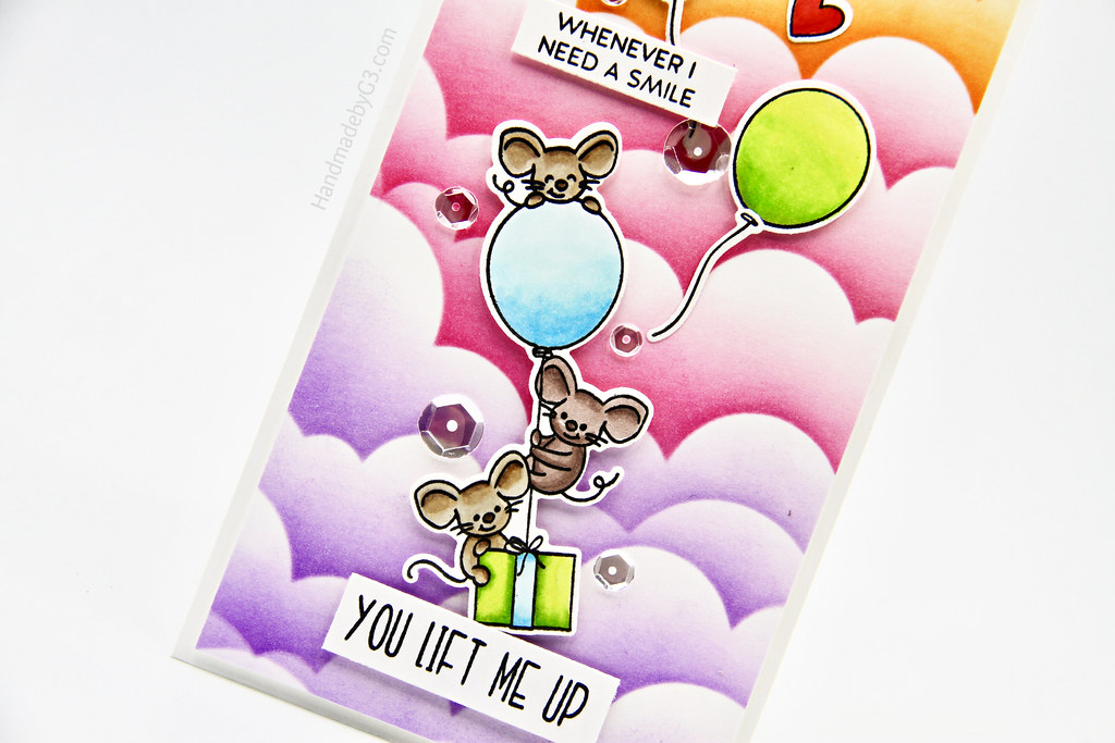 You Life Me Up card vertical closeup3