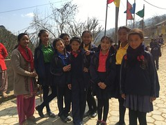 Foundation Team from US visits with Schools & Communities