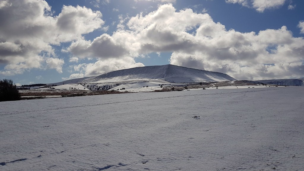 Hay Bluff and Twmpa