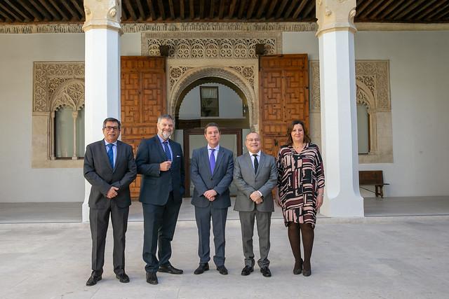 Reunión con los embajadores de Francia y Alemania en España
