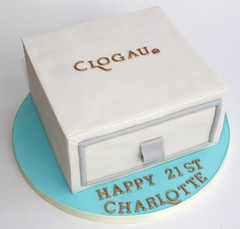 clogau ring box cake