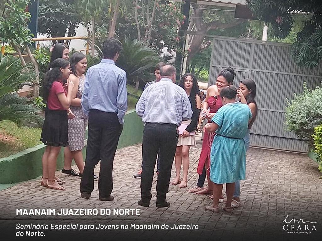 Seminário de Jovens - Maanaim Juazeiro