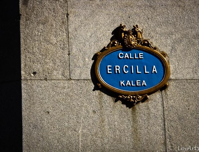Bilbao - plaque