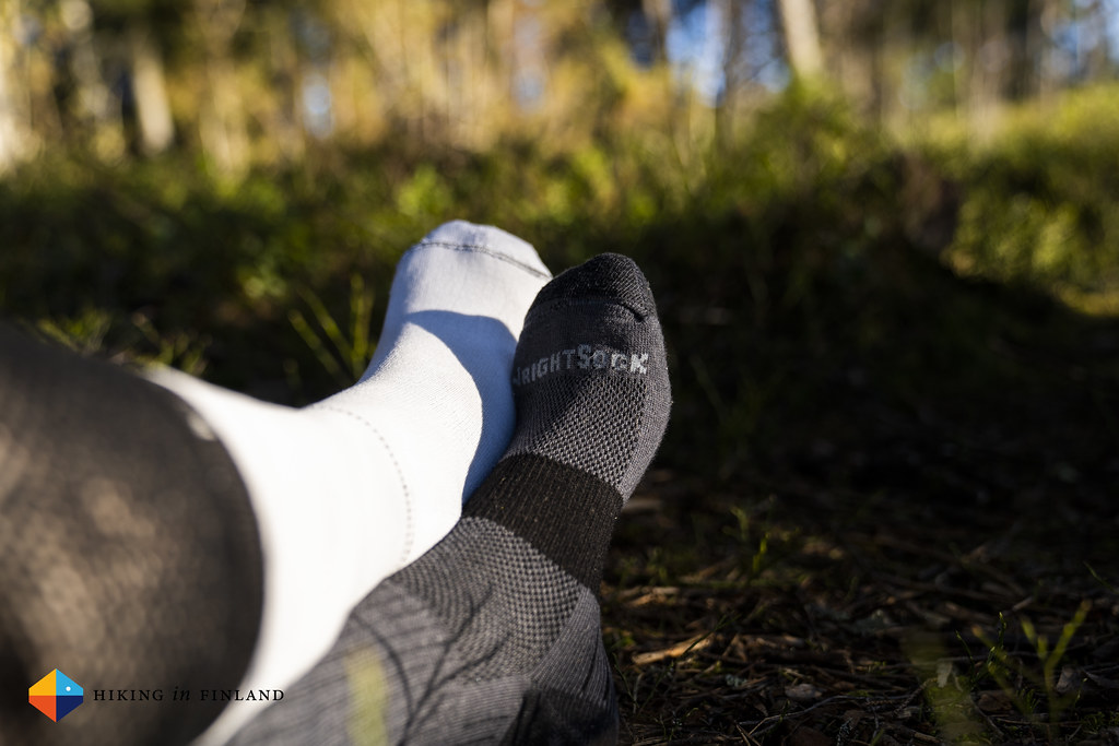 WRIGHTSOCK Escape socks inside-out