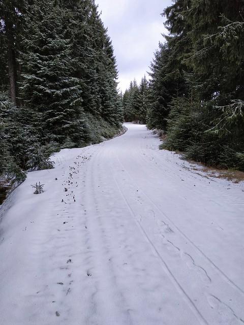 Krušné hory, Schupenberská cesta