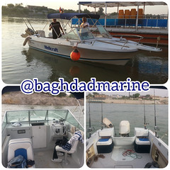 Wellcraft V20 steplift with full accessories and Johnson outboard engine #baghdadmarine #wellcraft #boat #outboard #marine #followus #wellcraftv20 #boats #outboards #iraq