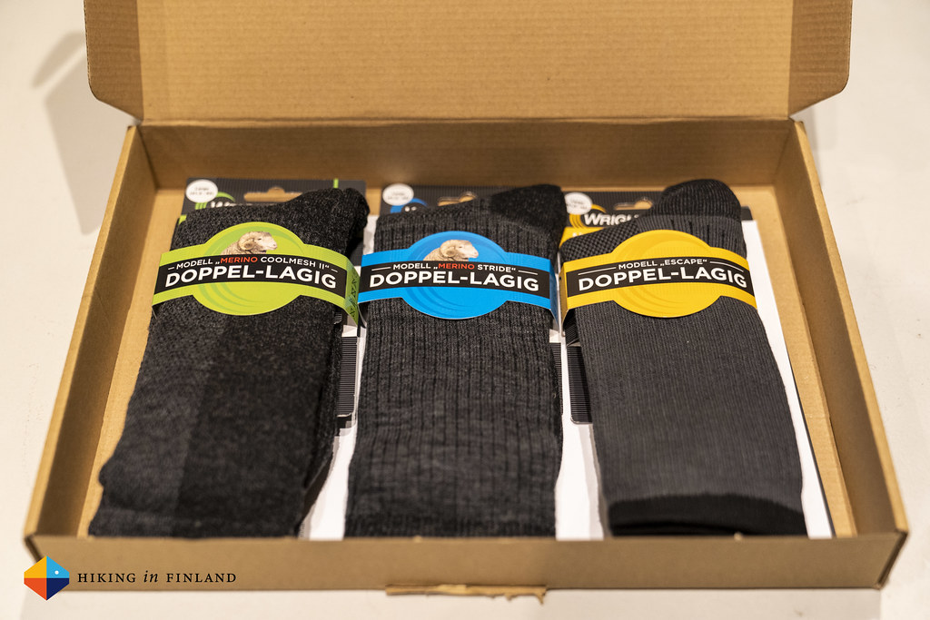A package of WRIGHTSOCK socks!
