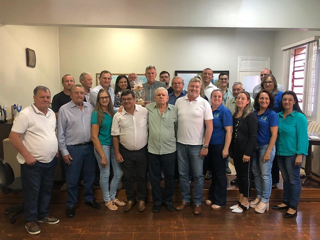 27/02/2020 Reunião com o prefeito, vereadores, empresários de Giruá