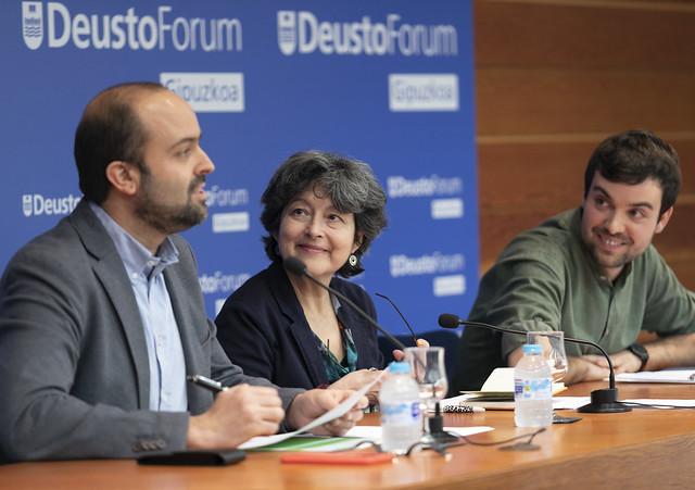 27/02/2020 - DeustoForum Gipuzkoa. Comunicar en las fronteras: Griselda Pastor-Mikel Rotaetxe