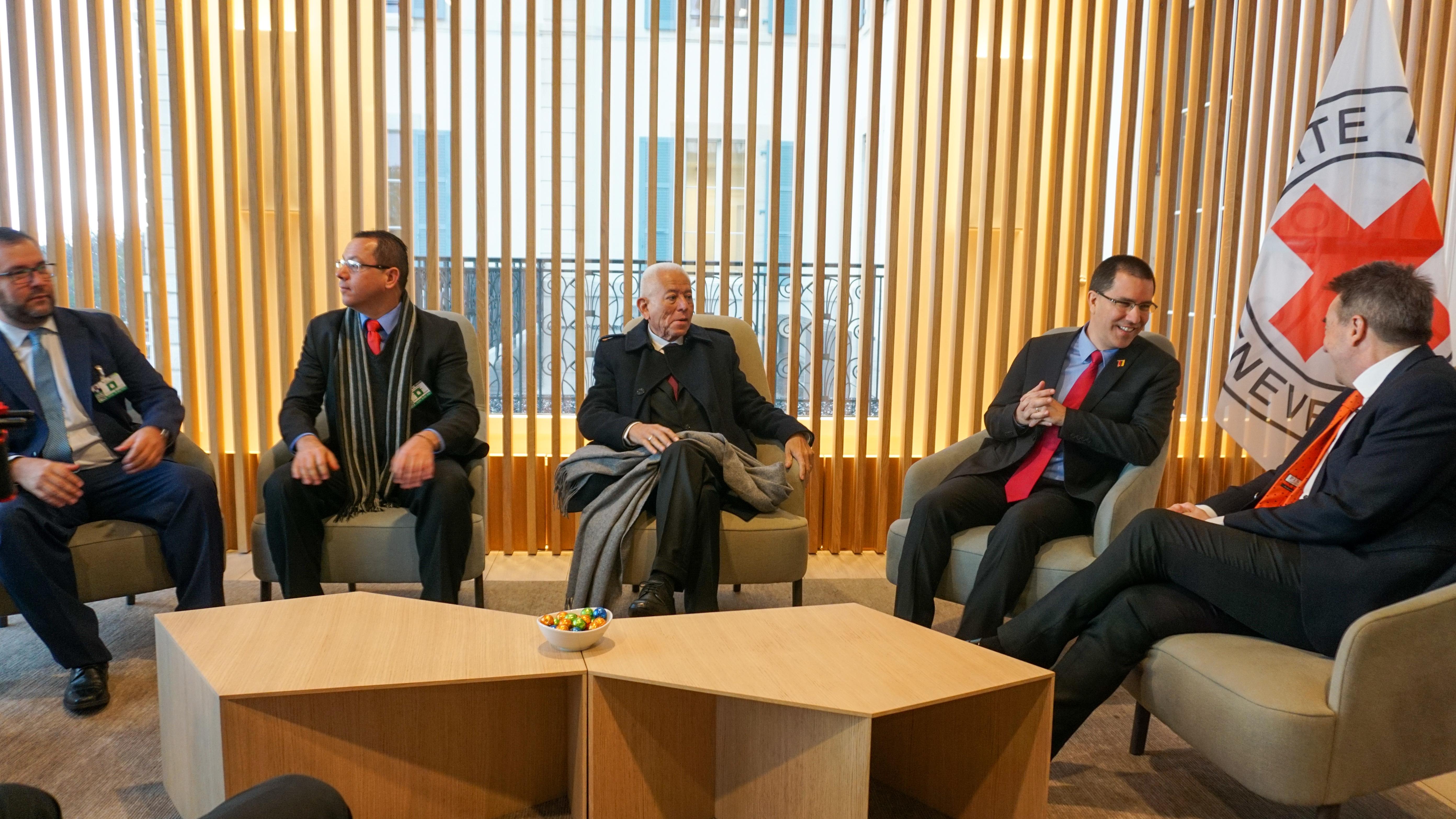 Venezuela y Comité Internacional de la Cruz Roja fortalecen lazos de cooperación en la ONU-Ginebra