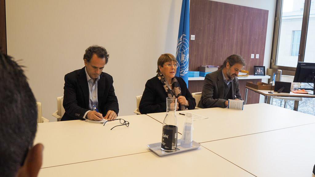 Canciller Jorge Arreaza se reúne en Ginebra con Alta Comisionada de la ONU Michelle Bachelet