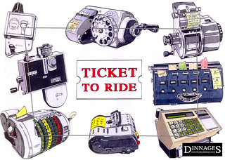 LA001 'Ticket to Ride' | by Dinnages-TransportPostcards.co.uk