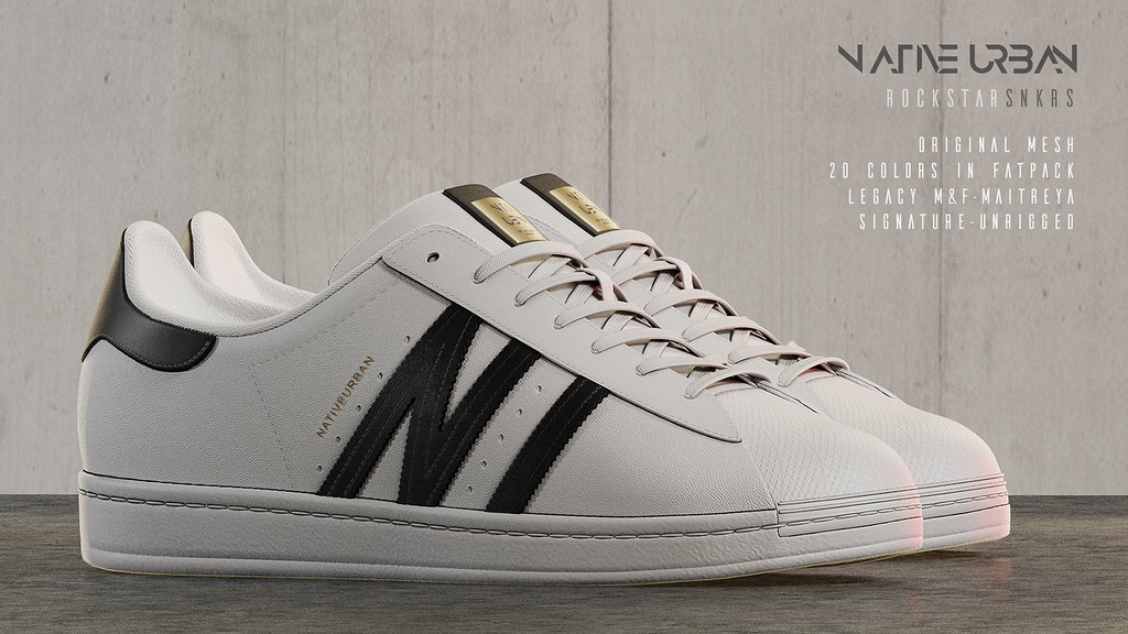 NATIVE URBAN – Rockstar Sneakers (GIVEAWAY IN PROGRESS)