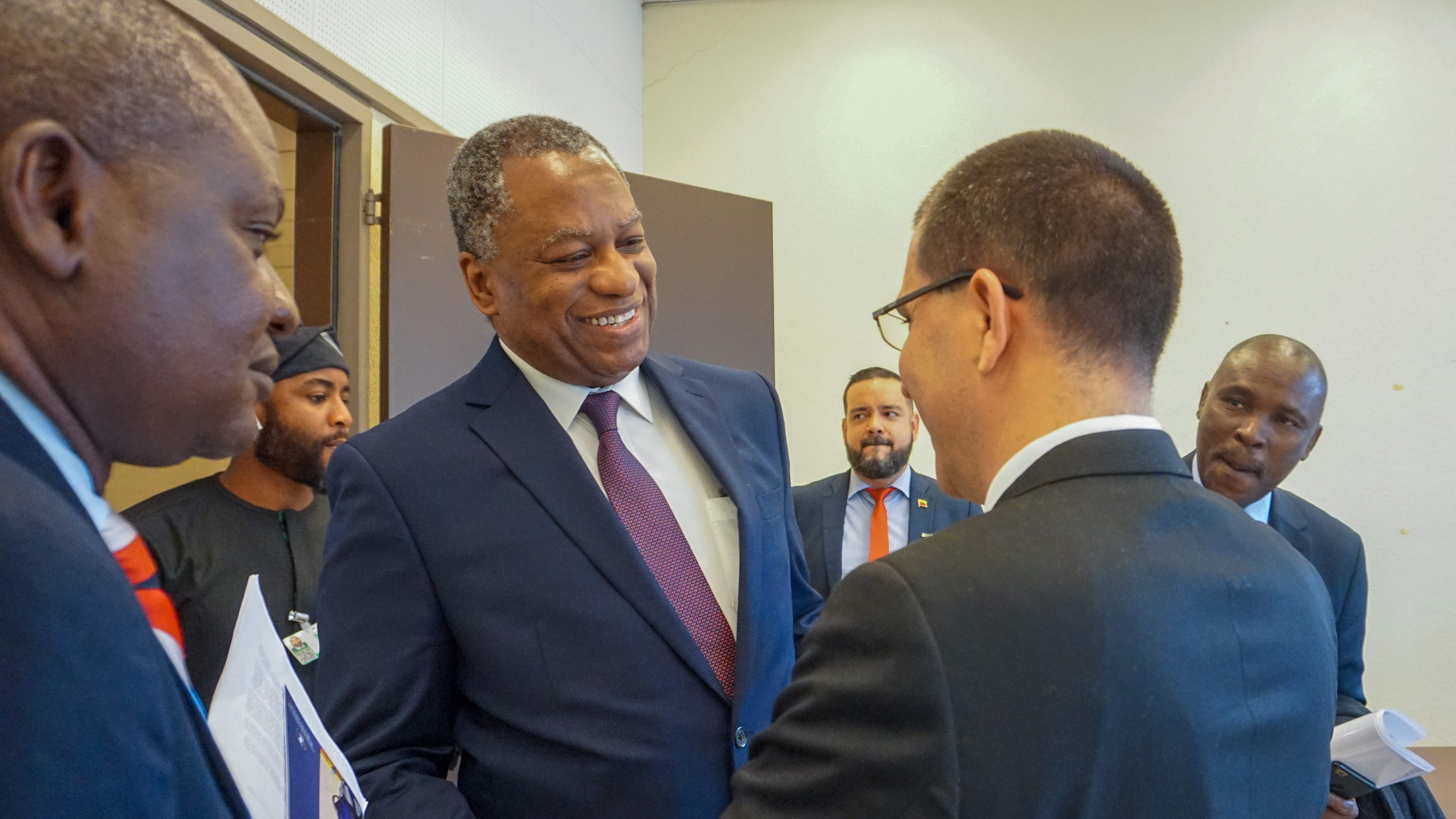 Venezuela y Nigeria reafirman lazos de amistad en la ONU-Ginebra