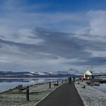 25. Veebruar 2020 - 11:24 - The Beauly firth on one side and the Caledonian Canal on the other makes for a popular walk in Inverness,