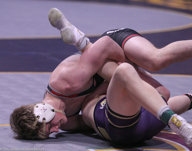 182 - Roman Rogotzke (Stillwater) over Kyle Tenor (Waconia) Fall 1:14 - 200227amk0085