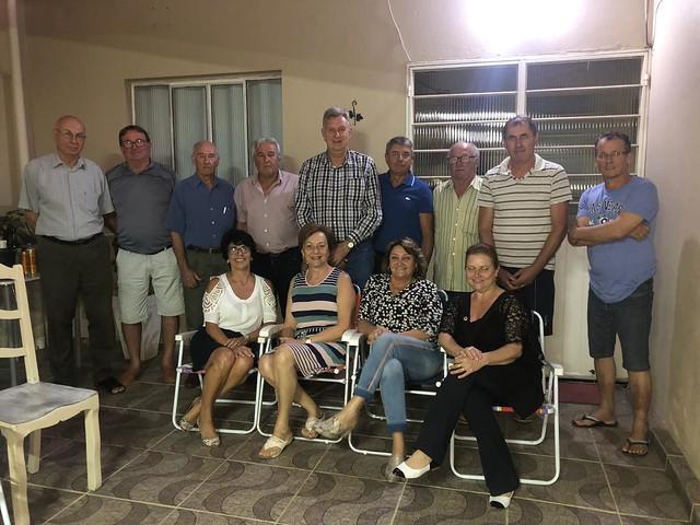 26/02/2020 Reunião com vereadores e diretório progressista em Jaguari