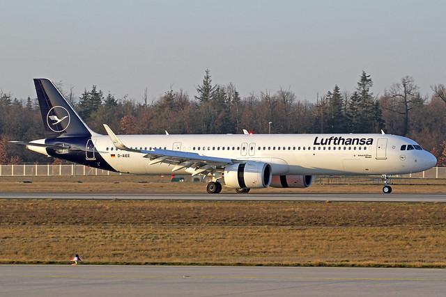 Lufthansa Airbus A321-271NX D-AIEE