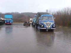 Reiver RE229 posted a photo:	No its not flooded today but here what was called the 'Swamp' back In 2008 when we had lots of rain back then early in that year which is just like this month this year and i must say im completely sick of the endless rain and wind!! These lorries are long gone and so is the 'Swamp' too which now has a football pitch on it now -which is not flooded which goes to prove its all down to drainage etc..