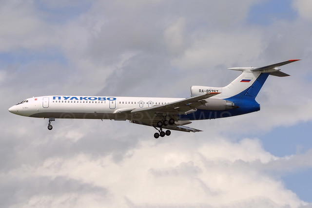 Pulkovo Tupolev TU-154M RA-85767